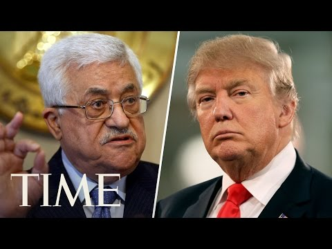 President Trump Gives A Joint Statement With Palestinian President Mahmoud Abbas | TIME