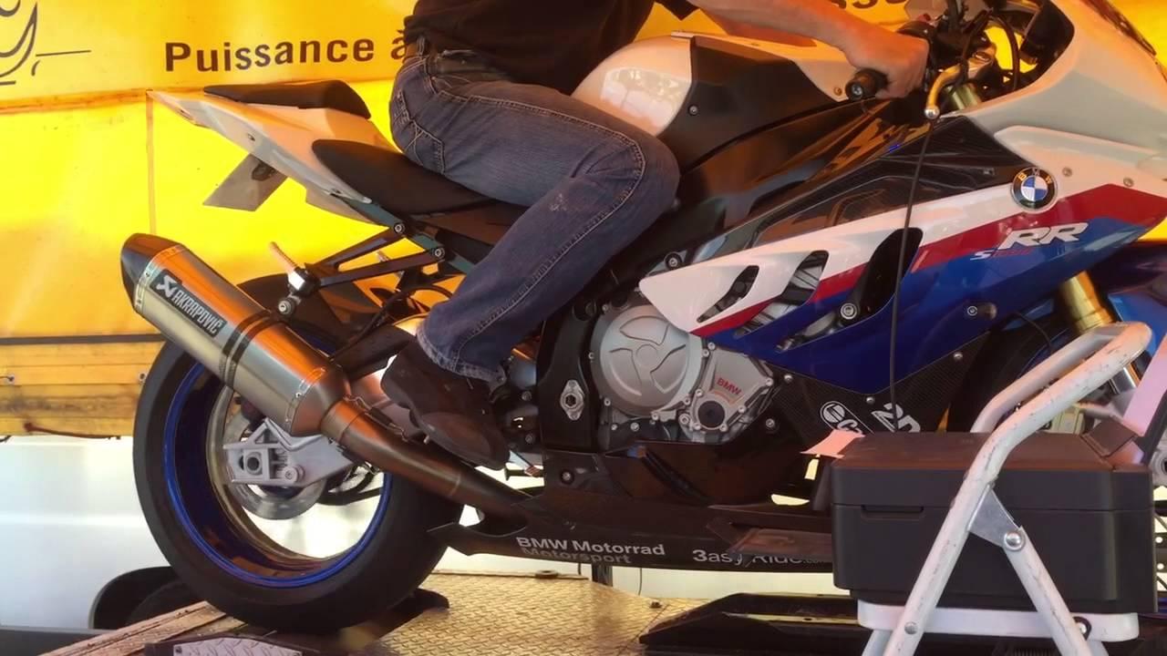 Banc De Puissance Moto Bmw S1000 Rr  Youtube