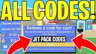JETPACK SIMULATOR CODES (ALL CODES) 🚀 ROBLOX *NEW*