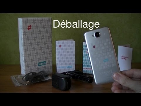d ballage du mobile sosh et premier d marrage unboxing un smartphone pas cher pour 69. Black Bedroom Furniture Sets. Home Design Ideas