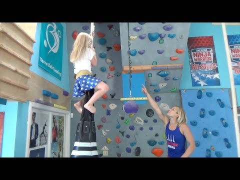 when she's Training at Jessie Graff's House with Sammo!!!!