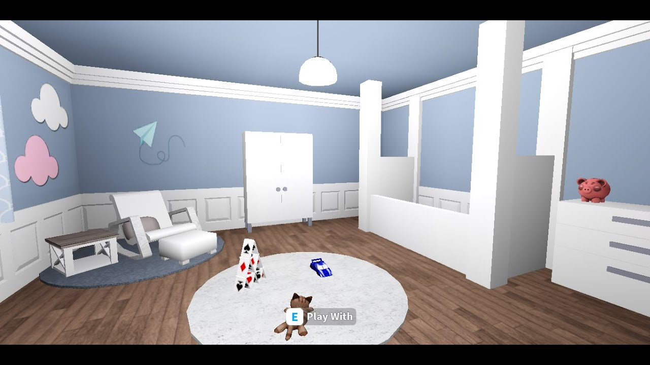 Bloxburg -NO GAMEPASS- Baby Room!!! (7K) -READ PINNED COMMENT!!!! - YouTube