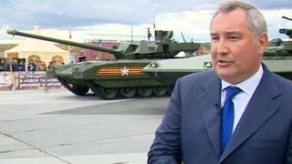 Военная продукция с Украины - это хлам: Рогозин на Russia Arms Expo RAE-2015