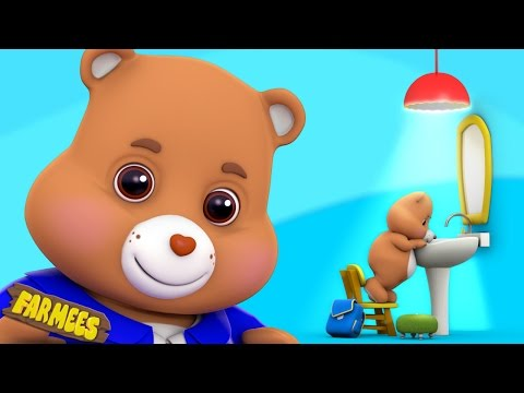 Teddy Bear Teddy Bear Turn Around | Nursery Rhymes | Kids Songs | Children Rhymes by Farmees