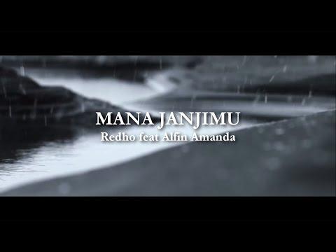 MANA JANJIMU - Redho feat Alfin Amanda ( Official Video Lyrics )