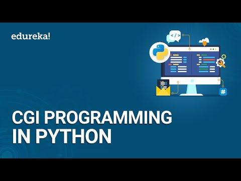 Python CGI Programming Tutorial   How to run CGI Programs in Python   Python Training   Edureka
