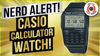 "Nerd Alert!! Review and ""How To"" - Casio Calculator Watch - DBC32"