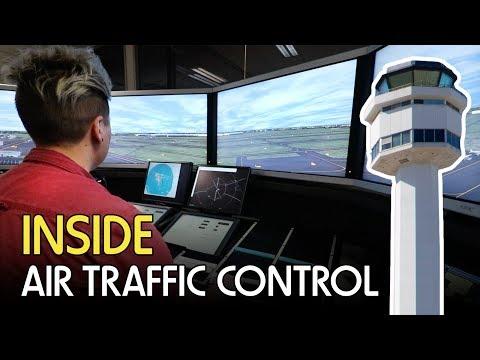 Inside Air Traffic Control - Melbourne ATC Tour