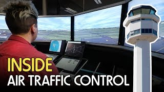 Inside Air Traffic Control - Melbourne ATC Tour