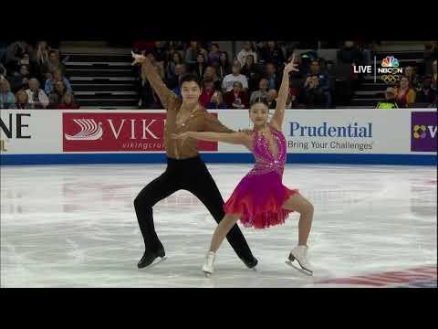 Maia And Alex Shibutani - Short Dance 2018 United States Figure Skating Championships