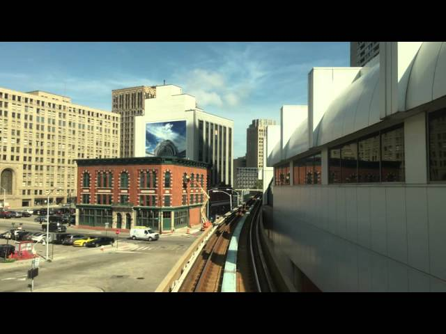 Ride the Detroit People Mover.