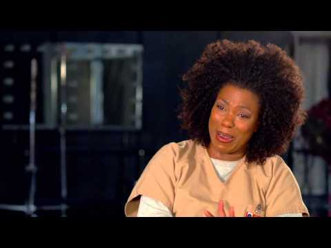"Orange Is The New Black: Lorraine Toussaint ""Vee"" Season 2 On Set TV Interview"