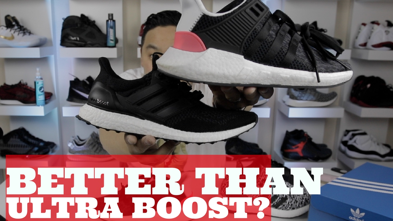 b9071e0da06e BETTER THAN ULTRA BOOST  ADIDAS EQT SUPPORT 93 17 DETAILED REVIEW! - YouTube