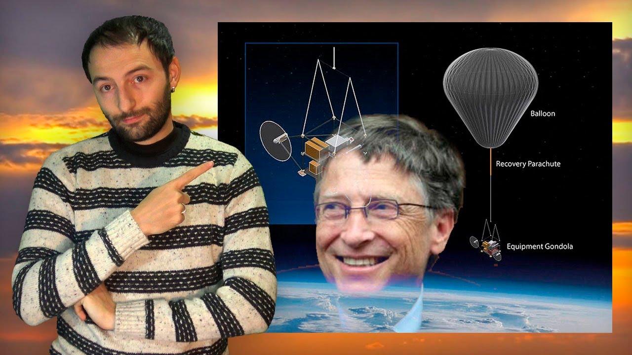 El Proyecto de Bill Gates para TAPAR EL SOL y enfriar el planeta