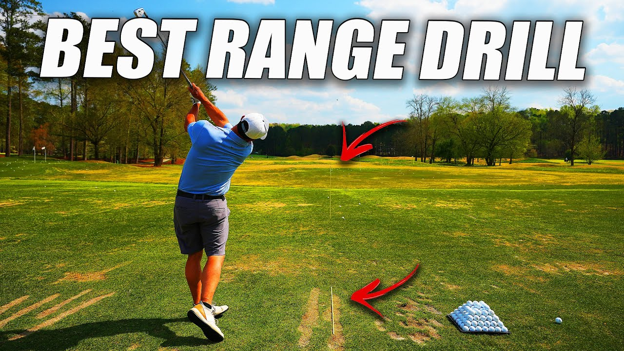 FRIDAY FIX - The Best Driving Range Drill Before you Play Golf