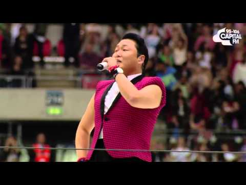 PSY - 'Gangnam Style' (Live Performance, Summertime Ball 2013)