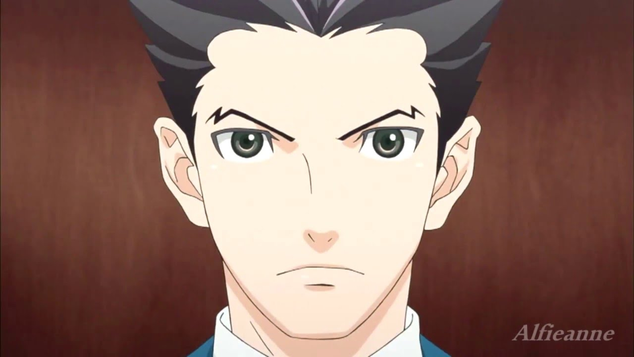 Almost Christmas Means It Wasnt Christmas.Ace Attorney Gyakuten Saiban Amv Battle Cry
