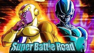 MOST MALEVOLENT! FRIEZA CLAN SUPER BATTLE ROAD! | DBZ Dokkan Battle Meta Cooler