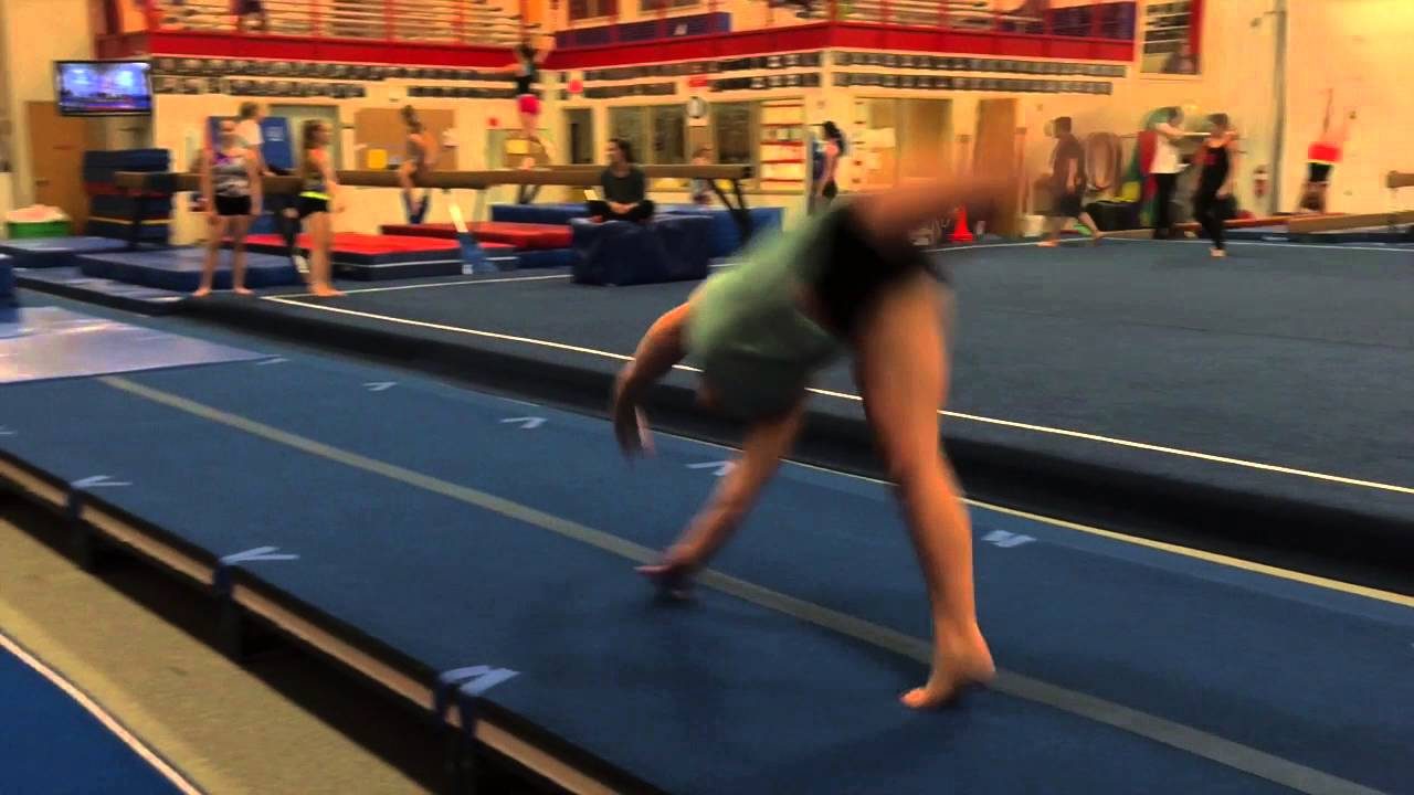 Layouts Spring Floor Tumbling Youtube