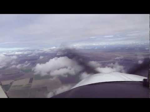 Flying my Beechcraft Bonanza over Yuba County CA