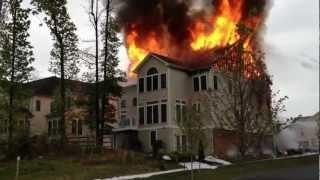 House Fire in Clarksburg, MD on 4/28/2012