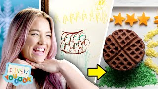 Can These Chefs Turn This Ice Queen Drawing Into Real Food? • Tasty