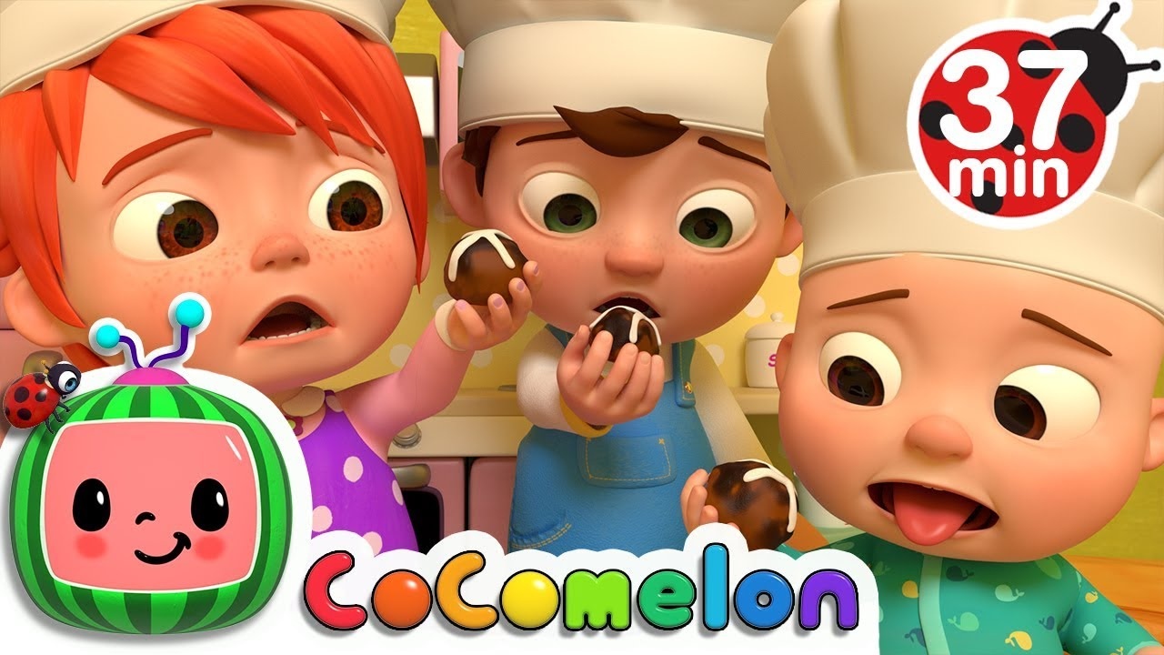 Hot Cross Buns | +More Nursery Rhymes & Kids Songs - CoCoMelon