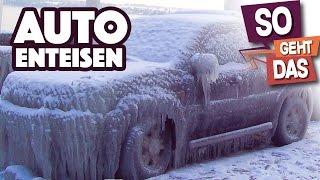 So befreist du dein Auto von Eis & Schnee!