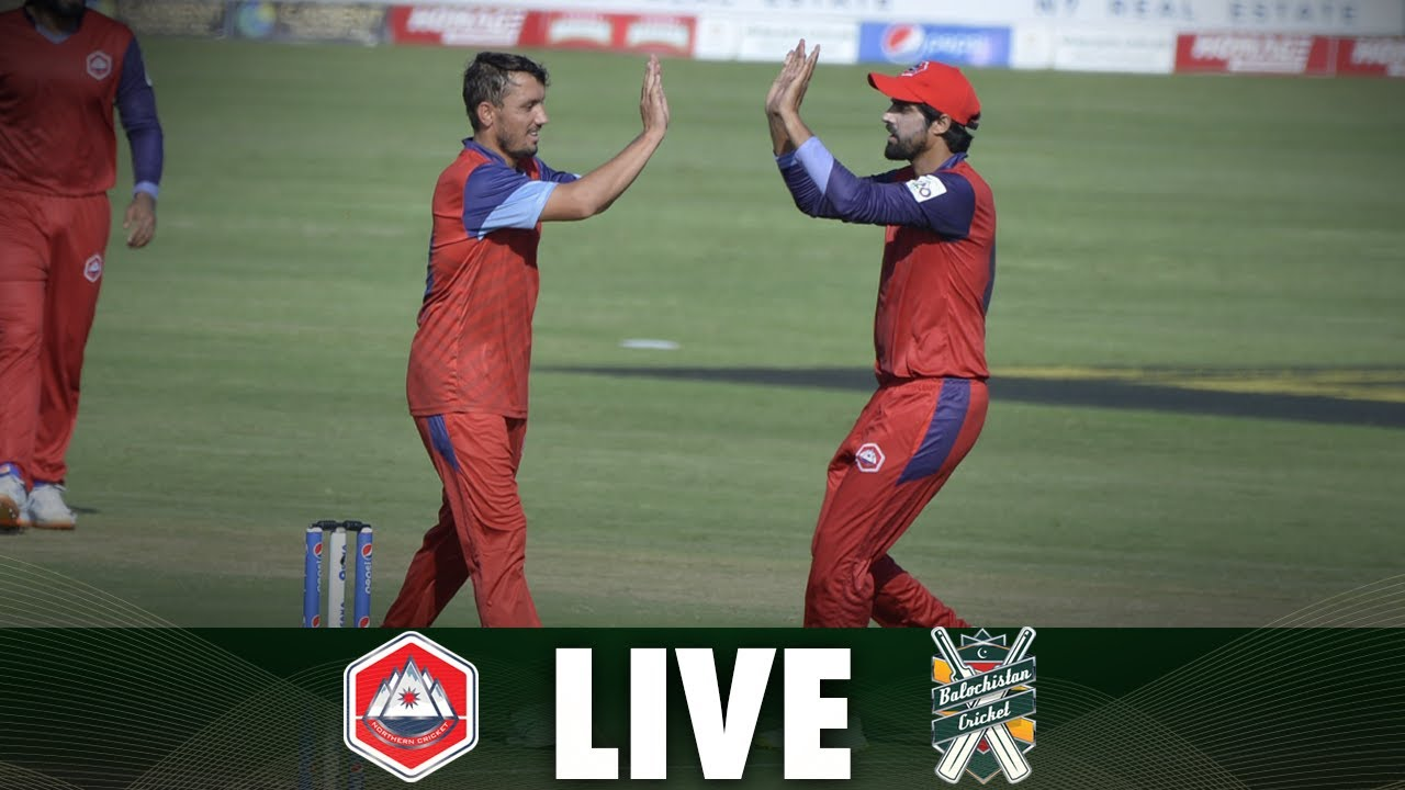 Download LIVE   Match 1   Balochistan vs Northern   National T20 2021