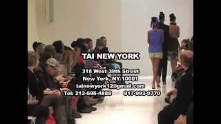 Tai New York Spring 2013 Collection - Small Boutique Fashion Week Show