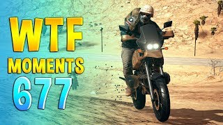PUBG WTF Funny Daily Moments Highlights Ep 677