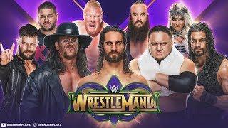 """Wrestlemania"" | ""WWE 2k18 Universe Mode"" | #81 (Wrestlemania Full Show)"