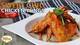 Sweet Chili Chicken Wings Recipe with Mega Prime Sweet Chili Sauce