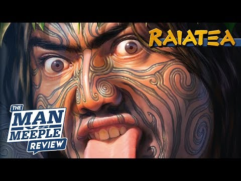 Raiatea Review by Man vs Meeple (Quined Games)