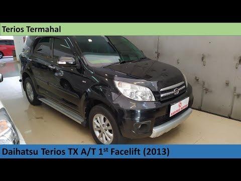 Daihatsu Terios TX 1st Facelift (2013) review - Indonesia