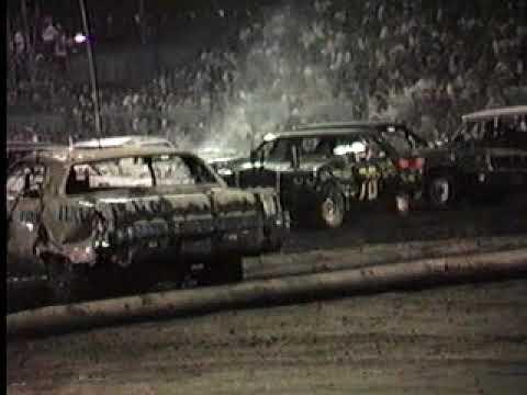 1993 Coffeyville Demolition Derby Heat 3 1 2 Youtube