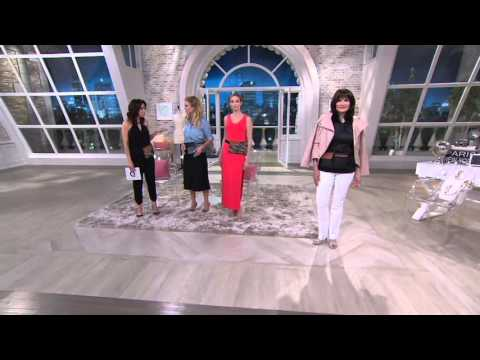 G.I.L.I. Canvas Fanny Pack with Leather Trim on QVC