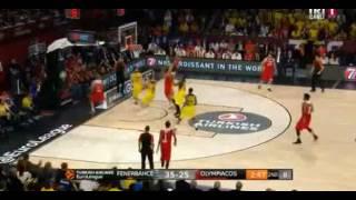 Jan Vesely Efsane Blok - Fenerbahçe - Olympiakos Euroleague Final 21 Mayıs 2017
