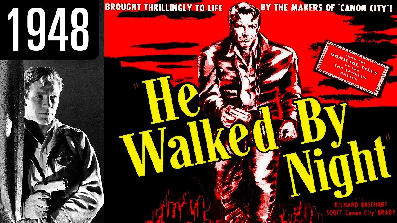 Image result for he walked by night (1948)