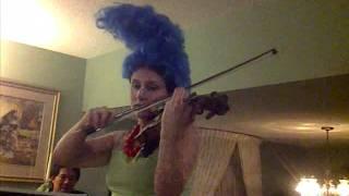 CarmelleCon: Simpsons theme on violin