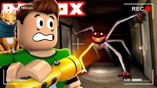 SURVIVE THE HOTEL'S MONSTER in ROBLOX Roblox Camping Part 12