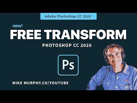 Photoshop 2020: Free Transform Update!