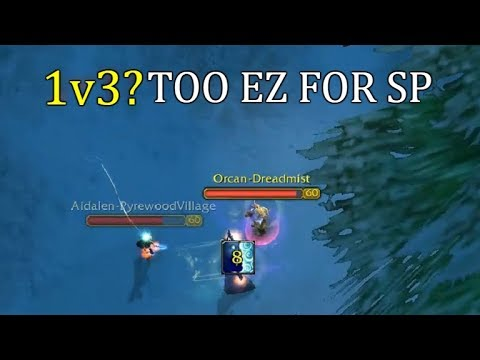 1v3? Too EZ For SP!   Priest Shadow PvP Highlights Classic WoW