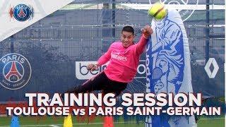 TRAINING SESSION -  TOULOUSE FC vs PARIS SAINT-GERMAIN