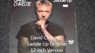 David Christie - Saddle Up Original 12 inch Version 1982