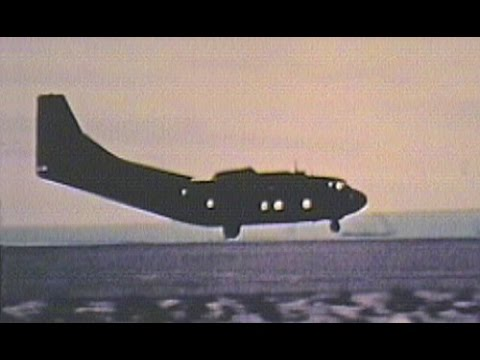 Steep Assault Landing Tests in C-123K, 1972