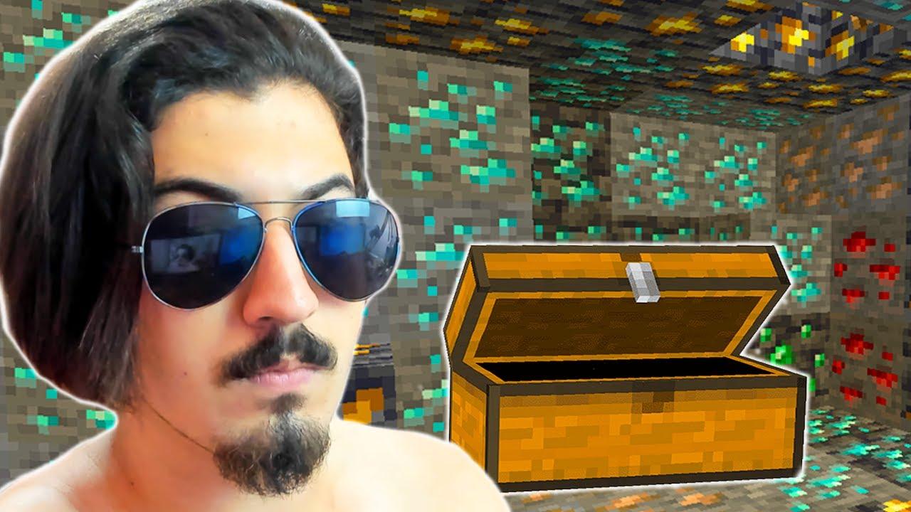 EKİPTEN GİZLİ MAHZEN YAPTIM! Minecraft Bölüm 11