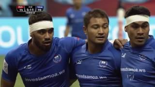 (HD) Vancouver 7s   France v Samoa   Challenge Trophy Quarter Final   Full Match Highlights