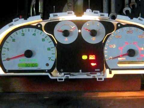 2005 Ford Ranger Gauge Cluster Bench Test Youtube