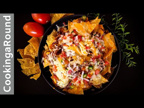 Nachos With Meat Recipe For That Super-Bowl Game